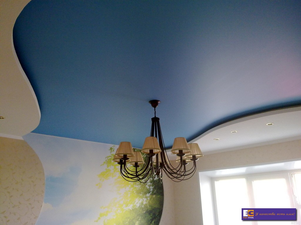 Белый сатиновый натяжной потолок отзывы